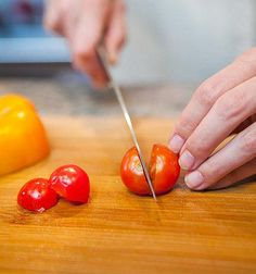 You're Doing It Wrong: Cutting Cherry Tomatoes One by One | 22 Things You're DoingWrong