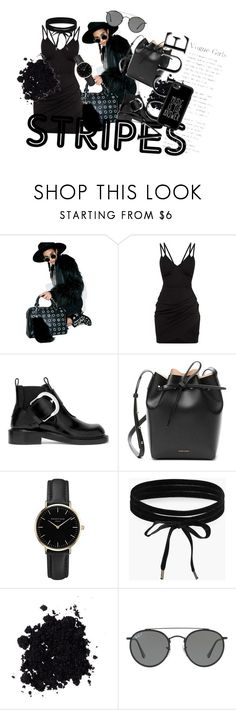 """""""Untitled #95"""" by kvokopola ❤ liked on Polyvore featuring OneTeaspoon, Maison Margiela, Mansur Gavriel, ROSEFIELD, Boohoo, Ray-Ban and Casetify"""