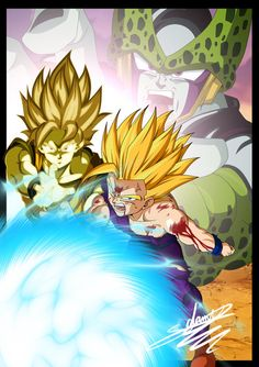 7 Cell Game by ChibiDamZ on DeviantArt Dbz, Goku And Gohan, Dragon Ball Z, Manga Dragon, Fan Art, Chibi, Animation, Deviantart, Wallpaper