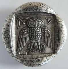 Owl coin I think its a tetradrachm owl coin.