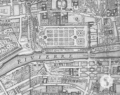- DESCRIPTION - SPECS Map of Paris 1705 (Huitieme plan de Paris) Swag Paper's…