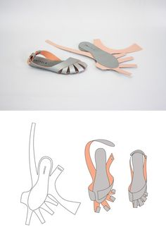 UNIFOLD is an experimental project with Professor Crowley that explores ways to construct footwear with a one-piece die cut pattern. These shoes aren't just fashionable. They could save millions from the spread of parasitic foot diseases in the developing world.