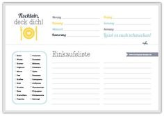 Download a weekly menu & shopping list form (sodapop-design.de)