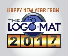 Let me know if you'd like a new logo, business cards, etc. for the New Year! www.thelogo-mat.com #logo #logodesign #newyear