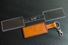 Bifold leather wallet - Mens leather wallet - Brown wallet - Card wallet men - Genuine leather wallet - Wallet for cards Leather Art, Sewing Leather, Leather Pattern, Leather Tooling, Leather Jewelry, Diy Leather Projects, Leather Diy Crafts, Leather Keychain, Leather Wallet