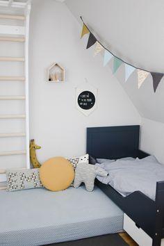 Eine Sprossenwand fürs Kinderzimmer – sanvie mini