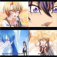 [[ Collage by @anime_obsession_ ]] Ryouma and Izumi