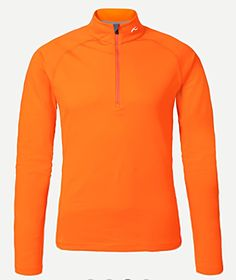 """The Kjus """"Second Skin"""" half zip midlayer works on cold damp predawn accents up Mtn Agung."""