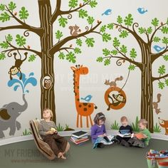 Iconic cultural world map fabric wall decal map fabric wall image of wondrous woodland nursery playroom wall decals gumiabroncs Gallery