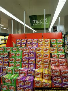 Footie Visual Merchandising for SHAPES Biscuits   Biscuits Food-And-Drinks Footie
