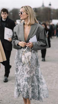 Vogue Fashion Week, Dior Fashion, Paris Fashion, Autumn Fashion, Fashion Outfits, Fashion Weeks, Stockholm Fashion Week, Stockholm Street Style, Street Style Chic