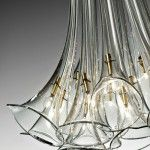 Almost as if it was a real bouquet of calla lilies . this elegant design of calla lilies lamp by Avmazzega is a perfect imitation. Interior Lighting, Home Lighting, Modern Lighting, Lighting Design, Glass Pendant Light, Chandelier Pendant Lights, Modern Chandelier, Crystal Lights, Chandeliers