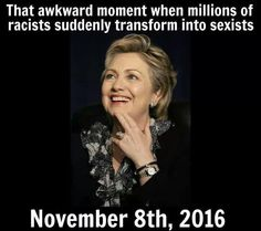 I won't be voting for her, but this is not untrue...