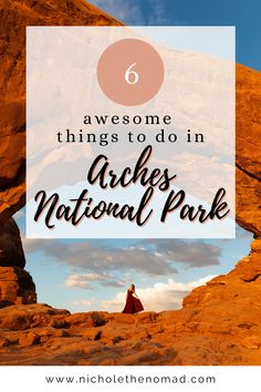 Are Utah's national parks on your bucket list? This is your guide to the ultimate itinerary to visit Arches National Park! It has your must-see sights and tips for planning your trip! #travelguide #roadtrip #nationalpark #itinerary #travel #utah #southwest | utah road trip | southwest road trip | utah's might 5 | national park road trip| united states road trip | moab road trip | united states national parks | US national parks | utah photography Utah Adventures, Hiking Photography, Us National Parks, Best Hikes, United States Travel, Plan Your Trip, World Traveler, Arches, Travel Around The World