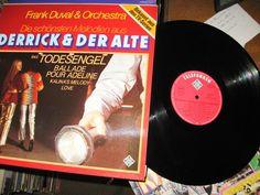 Frank Duval & Orchestra - Die Schönsten Melodien Aus  Derrick  GER 1979 Lp vg++