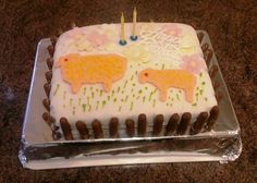 Happy 2nd birthday cake! Baaa!