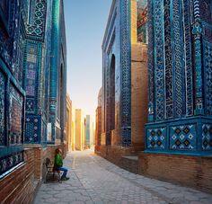 Samarkand en Ouzbékistan via Shutterstock