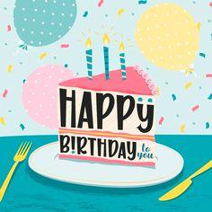 Happy Birthday Sms, Happy Birthday Template, Happy Birthday Wallpaper, Happy Birthday Wishes Cards, Happy Birthday Beautiful, 50th Birthday Cards, Happy Birthday Pictures, Happy Wishes, Happy Birthday Balloons