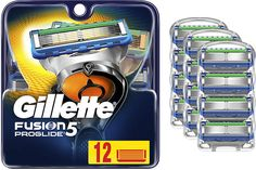 Gillette Fusion ProGlide Men's Razor Blades Refills Gillette Fusion, Mens Razors, Shaving, Blade, Tools, Instruments, Llamas, Close Shave