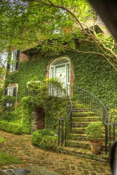 Ivy House, Charleston, South Carolina photo via leonor - Blue Pueblo