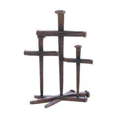 Cross Of Nails Trio Decor