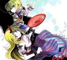 Yuugi and Parsee