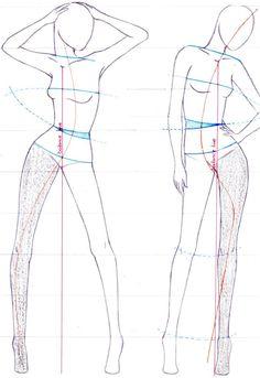 Картинки по запросу fashion illustration how to draw