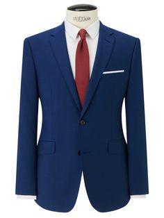 Kin by John Lewis Slim Fit Stamford Tonic Suit Jacket, Ultramarine