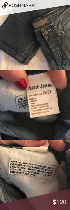 [acne studios] HEX SILVER more info coming soon, please ask any questions! Acne Jeans