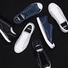 best quality 94730 6fcf8 Hiroshi Fujiwara Unveils New fragment design x Converse Jack Purcell  Collab  White, black, and navy options.
