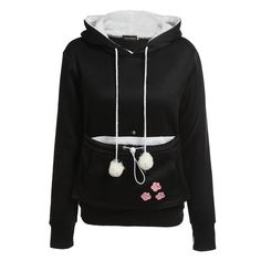 Cute Hoodie With Cuddle Pouch