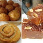 5 Νηστίσιμα φαγητά που πρέπει να δοκιμάσεις! | ediva.gr Doughnut, French Toast, Easter, Meat, Breakfast, Desserts, Food, Morning Coffee, Tailgate Desserts