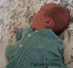 Comfy Baby Cardigan by Kasia Lubinska on Ravelry - 0-3, 6, 9-12, 24m