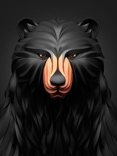 Textura e 3D nos animais de Maxim Shkret - Confira os belos animais em 3D do designer Maxim Shkret. Sua arte digital impressiona pela quantidade e qualidade dos detalhes.