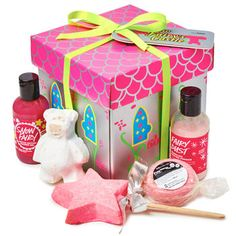 Snow Fairy's Castle Gift: This castle holds holiday treats for you to find sweetened skin and peace of mind.
