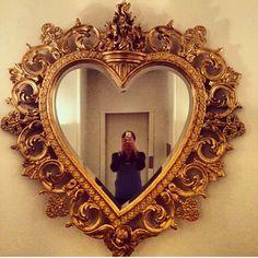 Sacred heart mirror