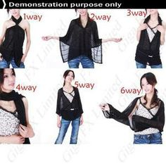 Multi-purpose Anti UV Shawl Scarf Neck Shoulders Wrap Coat