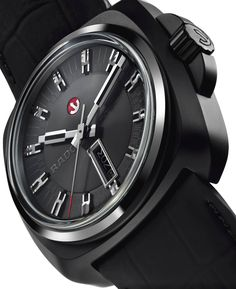 """Rado HyperChrome 1616 Watch - by Santiago Tejedor - see more on aBlogtoWatch.com """"The Rado HyperChrome 1616 was unveiled at Baselworld 2016, and grabbed my attention as a very handsome watch from a brand a lot of 'watch people' can often overlook. A powerful-looking watch inspired by the brand's vintage Cape Horn collection of the late 1960s revisited with new materials and a contemporary movement, the Rado HyperChrome 1616 is worthy of a serious look..."""""""