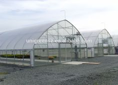 Single-span Hydroponic Blackout PC sheet Greenhouse