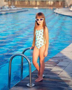 ― Anna Knyazevaさん( 「А еще здесь в несколько огромных бассейнов. Один из них с ноября будет…」 Little Girl Bikini, Bikini Girls, Teen Models, Young Models, Baby Girl Blue Eyes, Anastasia Knyazeva, Kristina Pimenova, Russian Models, Hello Summer