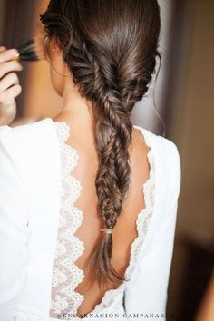 FESTIVAL BRIDES    The Braided Bride: 26 Plait and Braid Wedding Hair Styles We Love #messyBraided