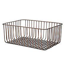 Buy John Lewis Fusion Antique Copper Wire Basket Online at johnlewis.com