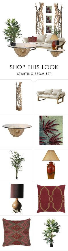 """""""Untitled #785"""" by aalexandraa-lalala ❤ liked on Polyvore featuring interior, interiors, interior design, home, home decor, interior decorating, Altea, Fresh Futon, NOVICA and Décor 140"""