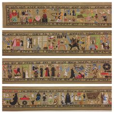 30-Foot Hand-Stitched Tapestry Tells the Story of Star Wars - My Modern Metropolis