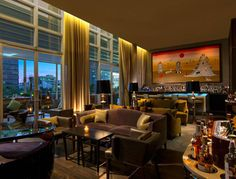 At their on-site bar, the St. Regis has imported its signature cocktail from New York, the Bloody Mary, and given it a local mezcal twist.