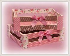 Cajas y Cajones / boxes and crates. Decoración, Organización y manualidades