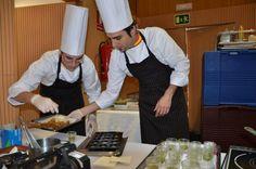 Evarist Miralles y Carlos Monsonis en Cocina en Acción, Valencia