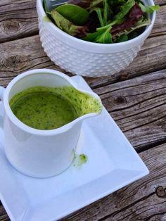 predominantly paleo: garlic cilantro vinaigrette