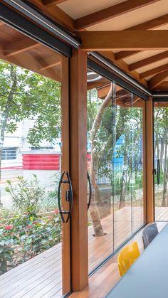 Dream Home Design, Modern House Design, Home Building Design, Building A House, Deco Restaurant, Design Exterior, Architectural House Plans, Backyard Patio Designs, Home Decor Furniture