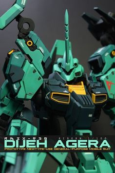 GUNDAM GUY: RE/100 Dijeh Agera - Custom Build